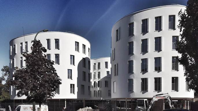 a+t visits Sanaa Social Housing in Paris