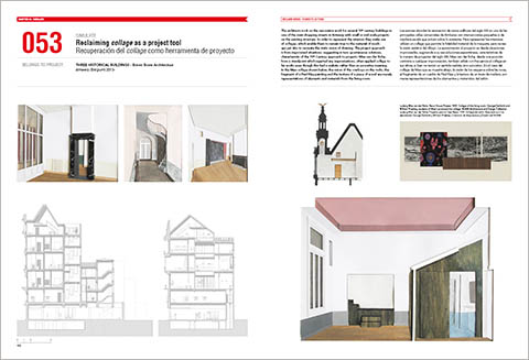 Collage as a project tool. Boven Bouw Architectuur