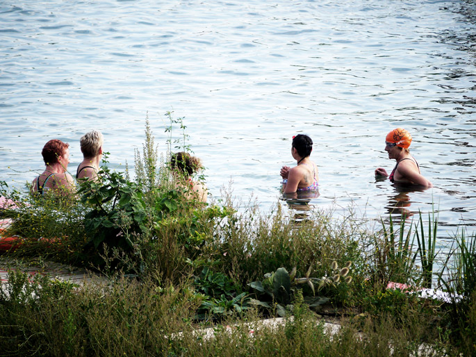 a+t visits King's Cross Natural Bathing Pond