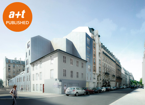 Atelier Zündel & Cristea. Residence for the mentally handicapped. Paris