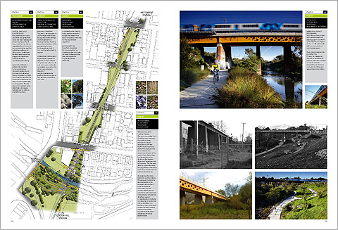 Jeavons Landscape Architects. Clifton Hill Railway. Melbourne. Australia