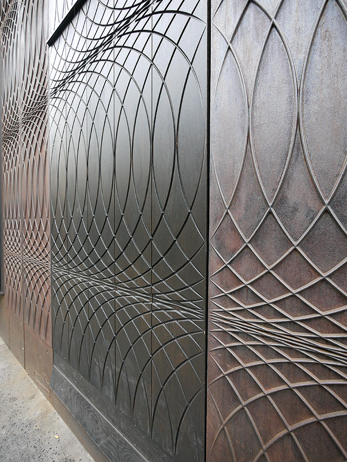 Exceptionnel a+t - 6a Architects. Paul Smith. Cast iron facade. London, 2012 LB59