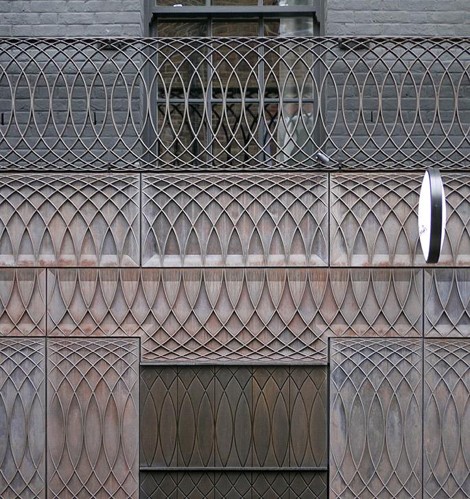 Bien-aimé a+t - 6a Architects. Paul Smith. Cast iron facade. London, 2012 DG97