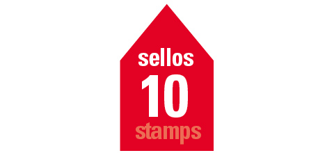 Collective Housing. 10 stamps