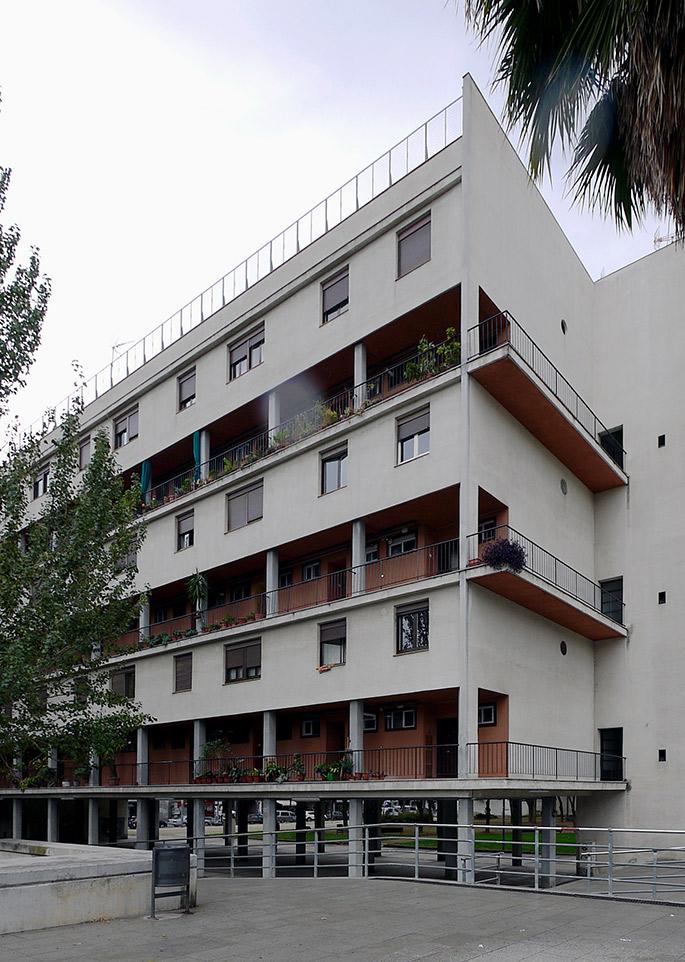 A t sert torres clav and subirana casa bloc - Casa torres barcelona ...