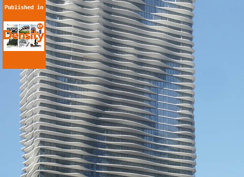 Studio Gang Architects. Aqua Tower. Chicago