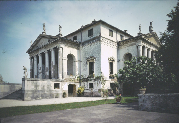 Grand Tour 1977. Villa La Rotonda