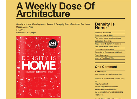 Density is Home in Archidose