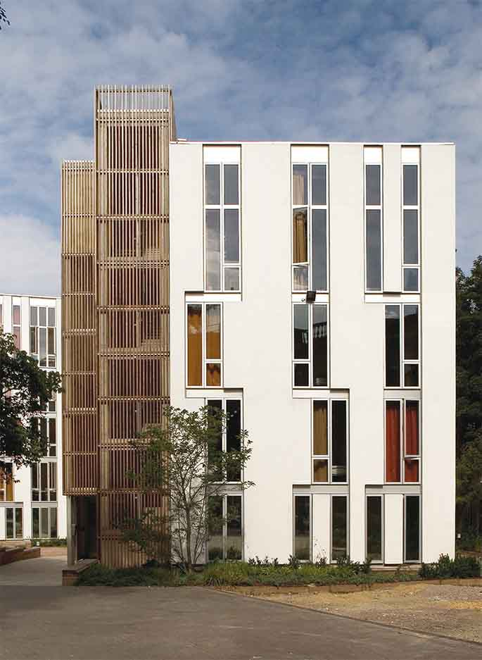 Haworth Tompkins. Student accommodation in London