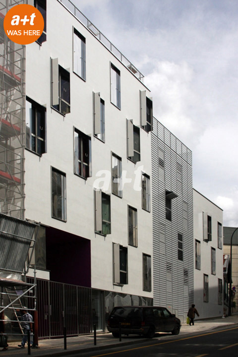 Hamonic + Masson. Student housing. Paris