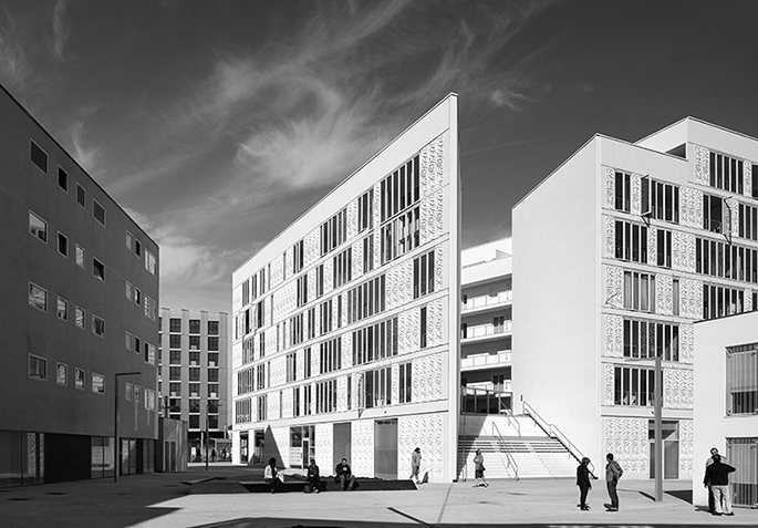 Tania Concko Architects & Urbanists. Begles Terres Neuves Lot B1. Bègles. France 2015