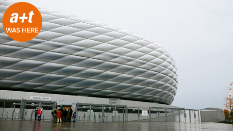 Herzog & de Meuron. Allianz Arena. Munich
