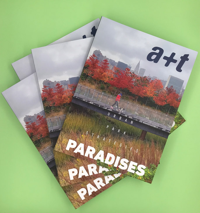 New issue! a+t 52 PARADISES
