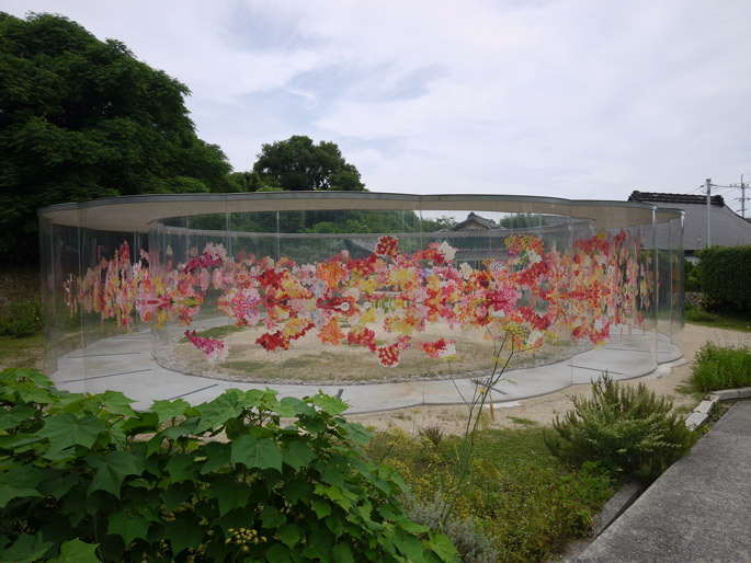 a+t visits  Inujima Art Project House A