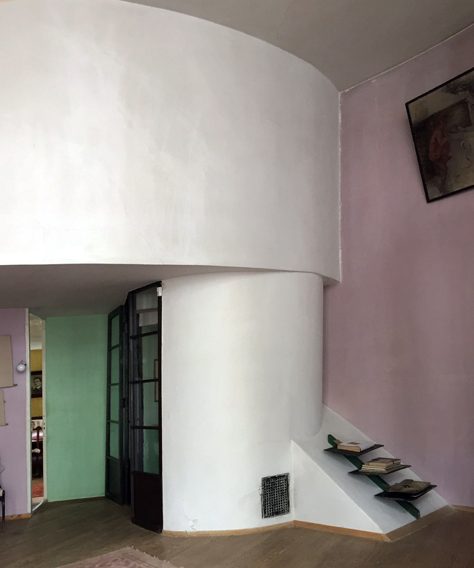 a+t visits the Melnikov House