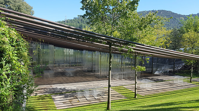 A t rcr arquitectes banqueting pavilion restaurant les for Arquitectes girona