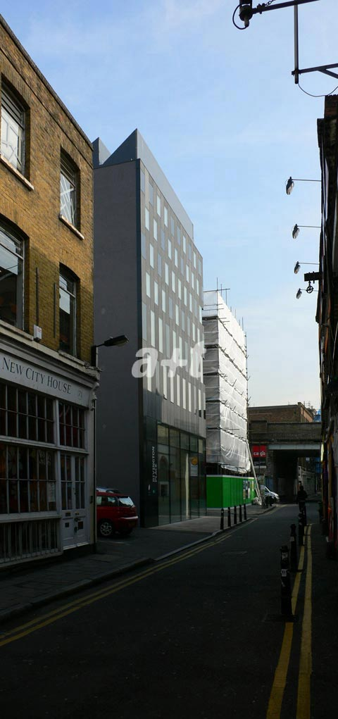 David Adjaye. Rivington Place. London