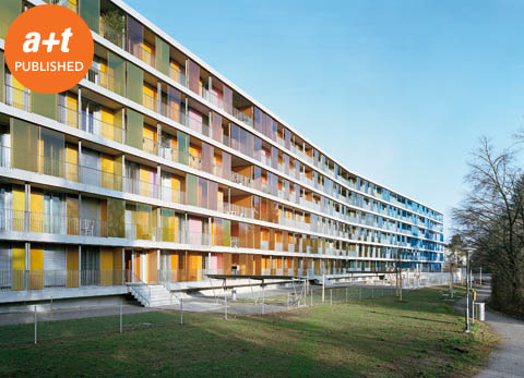 Gigon & Guyer. Social housing. Zurich. Switzerland