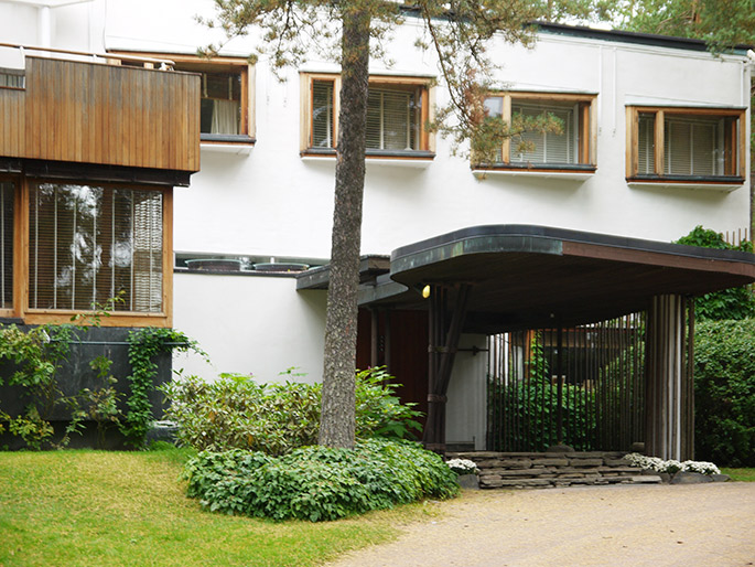 A T Alvar Aalto Villa Mairea Noormarkku Finland 1938
